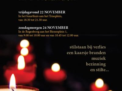 Herdenken in Drielanden op 22 en 24 november