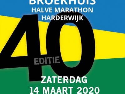 Black Friday inschrijvingsactie 40ste editie Broekhuis Halve Marathon Harderwijk 2020