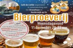 Café de Liefde organiseert een Bierproeverij