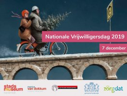 Nationale Vrijwilligersdag voor alle vrijwilligers in Harderwijk en Hierden