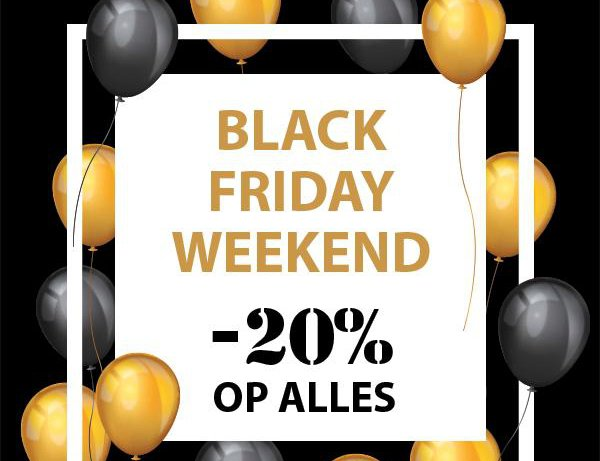 Black Friday Weekend bij Germano Menswear