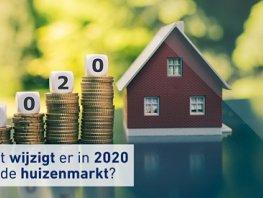 Een hypotheek in 2020: wat verandert er?