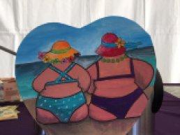 De Maretak: Schilderen Dikke Dames