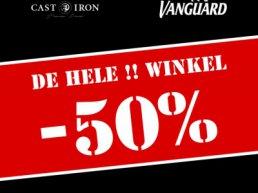 Germano Menswear 50% korting op de hele collectie