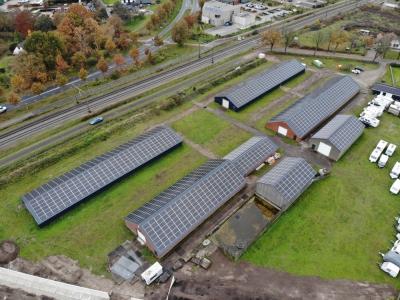 Caravanstalling Ermelo heeft zonnepark