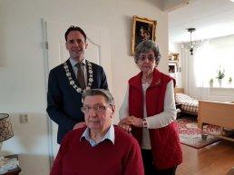 Henk Timmer en Alie Timmer-den Besten vieren hun 60 jarig huwelijksjubileum