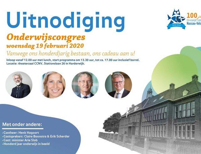 CCNV houdt onderwijscongres