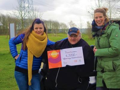 Oranje Fonds reikt Buurtcadeau uit in Harderwijk