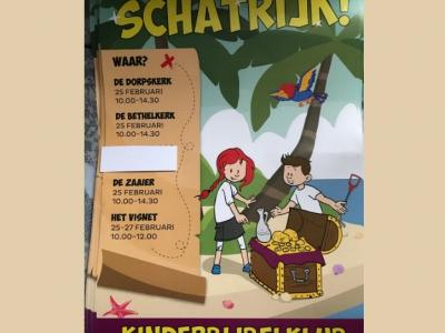 KinderBijbelKlub in De Zaaier