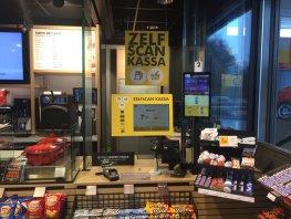 Betere doorstroom bij Shell door zelfscan kassa