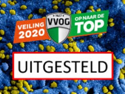 VVOG veiling 2020 i.v.m. coronavirus uitgesteld