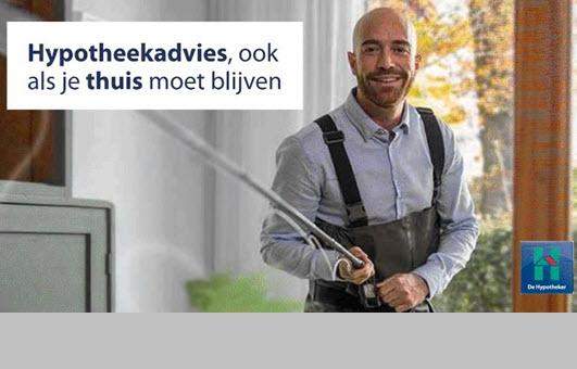 Hypotheekadvies op afstand bij De Hypotheker Harderwijk