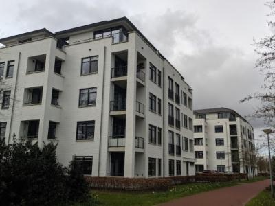 Bewoners van wooncomplex Sprengpark in Harderwijk zorgen voor een hygiënische omgeving