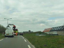 Maandag 6 april overlast voor verkeer Groene Zoomweg