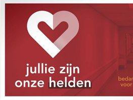 Vrienden van St Jansdal organiseert posteractie voor zorgpersoneel