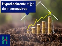 De rente stijgt door de corona crisis. Profiteer nu nog van de laagste rente!