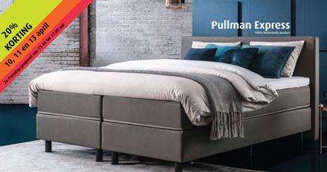 Paasactie met Pullman Express bij Beddenspecialist den Herder Harderwijk