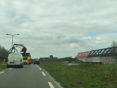 Werkzaamheden tunnel Groene Zoomweg