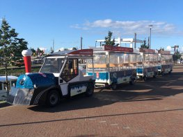 Toeristentreintje rijdt weer in Harderwijk