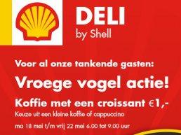 Shell Stadsdennen Vroege Vogel Actie