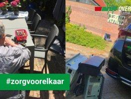 Cliënten van 's Heeren Loo halen oude telefooncentrales en smartphones uit elkaar