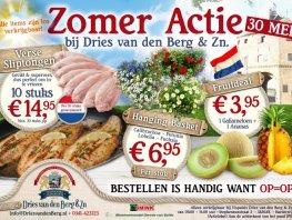Zomeractie Palingrokerij en Vishandel Dries van den Berg.