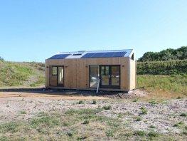 Eerste tiny house aan het Rappad in Harderwijk