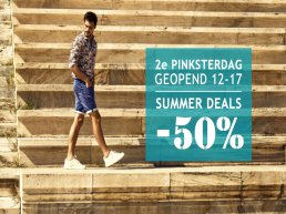 Germano Menswear 2e Pinksterdag geopend