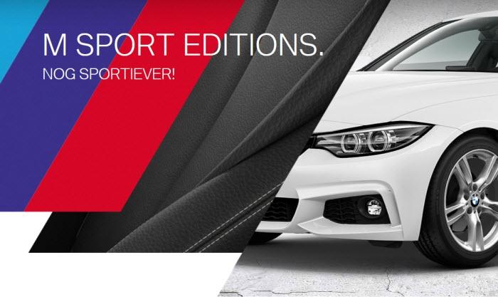 BMW M Sport editions