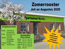 Zomerabonnement bij Sportschool Hierden in juli en augustus voor maar € 25,00