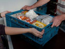 Inzamelingsactie voor de voedselbank week 27