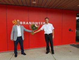 Bert Holleman feliciteerd duikteam Harderwijk