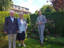 Beert van de Poppe en Marie van de Poppe - Dirksen 60 jaar getrouwd