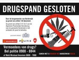 Spoedsluiting woning in Harderwijk vanwege hennepkwekerij