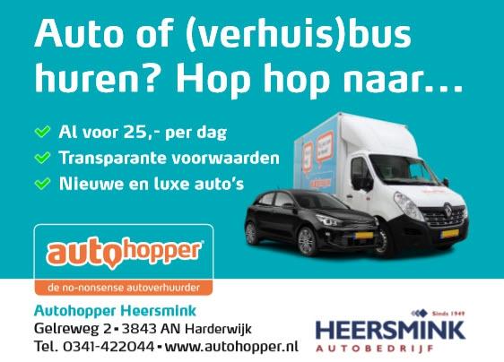 Auto of (verhuis) bus huren?