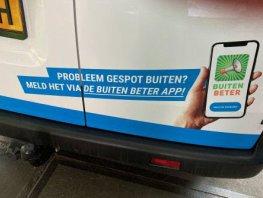 Speeltoestel kapot? Gebruik de BuitenBeter app
