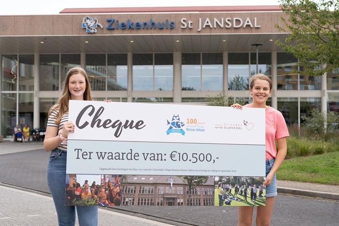 Leerlingen CCNV verrassen Vrienden van St Jansdal Harderwijk