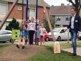 Nieuwe speeltuin Hofdijkstraat in Harderwijk