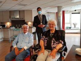 Echtpaar Venema - Markestijn 65 jaar getrouwd