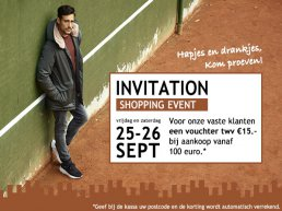 Shopping Event Germano Menswear