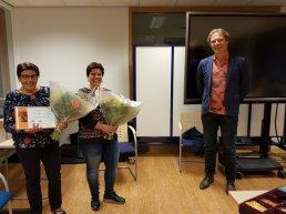 Gymnastiekvereniging Olympia Harderwijk eert twee jubilarissen
