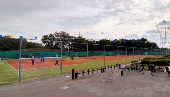 Ouder kind tennismiddag bij Tennisvereniging Frankrijk 2