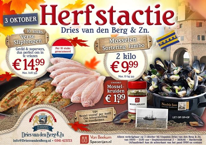 Herfst actie Dries van den Berg & Zn. Harderwijk