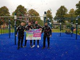 Nieuwe Calisthenics Park in Harderwijk geopend