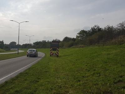 50 km/u op Groene Zoom in Harderwijk
