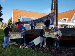 Harderwijkse Smaakmakers reiken cheques uit aan verenigingen