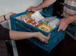 Inzamelingsactie voor de voedselbank week 45