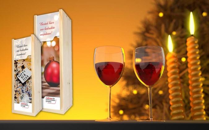Originele en voordelige gepersonaliseerde wijnkistjes met inhoud!!