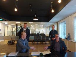 Securitas en BKH zetten handtekening onder contract integrale beveiliging Lorentz