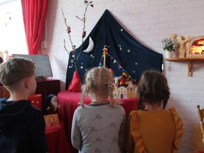 Proef Sinterklaassfeer bij Vrije School Valentijn